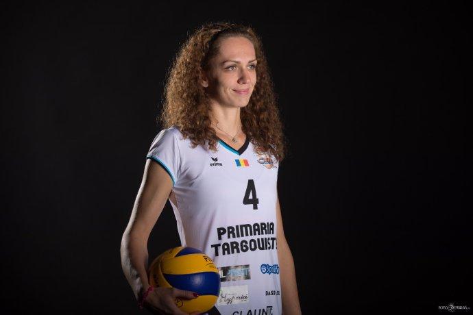 Slovenská volejbalistka Veronika Hrončeková. Foto– CSM Târgoviște/ archiv V.H.