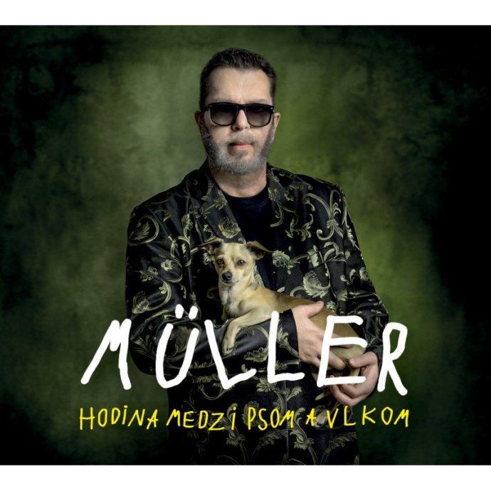 Richard Müller na nové desce svůj nový hlas opět nenašel. Repro: Universal Music