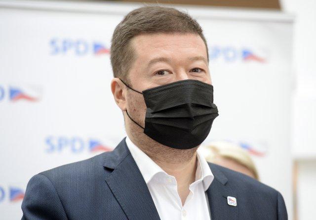 Předseda SPD Tomio Okamura. Foto:ČTK