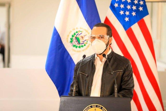Salvadorský prezident Nayib Armando Bukele Ortez. Foto: Presidencia El Salvador, Facebook, PresidenciaSV