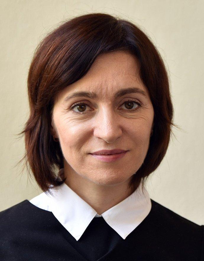 Maia Sanduová se stala první prezidentkou Moldavska vhistorii země. Foto:Jindřich Nosek, Creative Commons Attribution-Share Alike 4.0International license