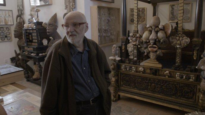 Jan Švankmajer ve své magické Kunstkameře. Foto:CinemArt