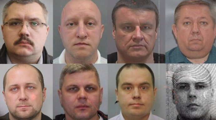 Agenti ruské FSB, které investigace Bellingcat obviňuje zotravy nejznámějšího Putinova odpůrce, politika Navalného. Zdroj: Bellingcat