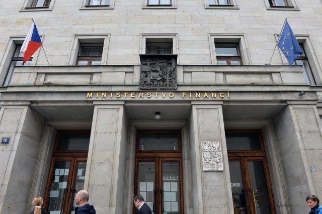 Ministerstvo financí ČR vLetenské ulici vPraze. Foto:ČTK