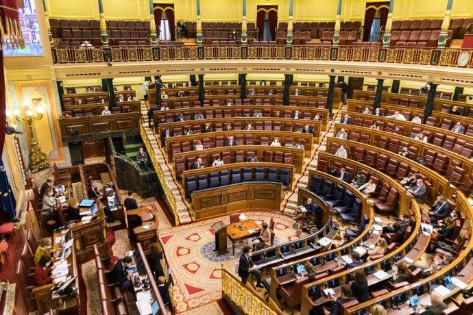 Jednání španělských poslanců oeutanázii. Foto:congreso.es
