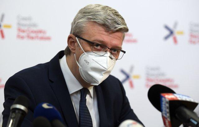 Ministr průmyslu aobchodu Karel Havlíček (za ANO). Foto:ČTK