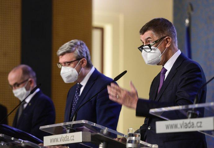 Premiér Andrej Babiš podle svých slov neví, proč by se mělo hlasovat onedůvěře jeho vládě. Foto: ČTK
