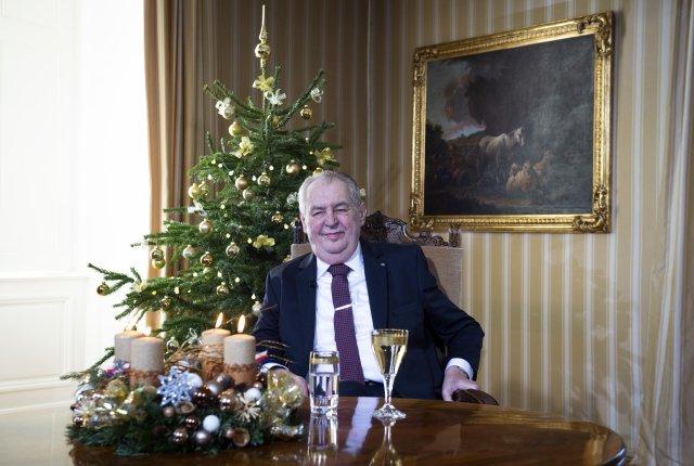 Prezident Miloš Zeman Foto:ČTK