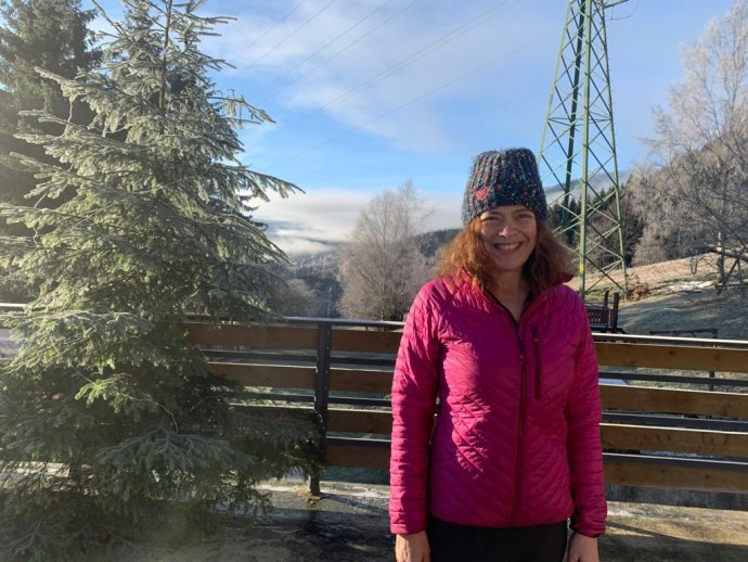 """Zuzana Semerádová má vMalé Úpě rodinný penzion. Když připravila hostům program bez lyžování, protože nebylo povolené, tak ale vládá zakázala ubytování. """"Nedává to smysl,"""" říká. Foto:Zuzana Semerádová ml."""