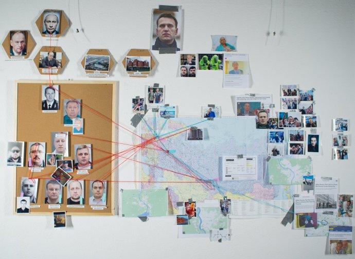 Vyšetřování Bellingcatu potvrzuje, že za otravou Navalného byla ruská tajná služba. Konkrétně jednotka FSB specializující se na atentáty pomocí chemických zbraní. Foto: Bellingcat