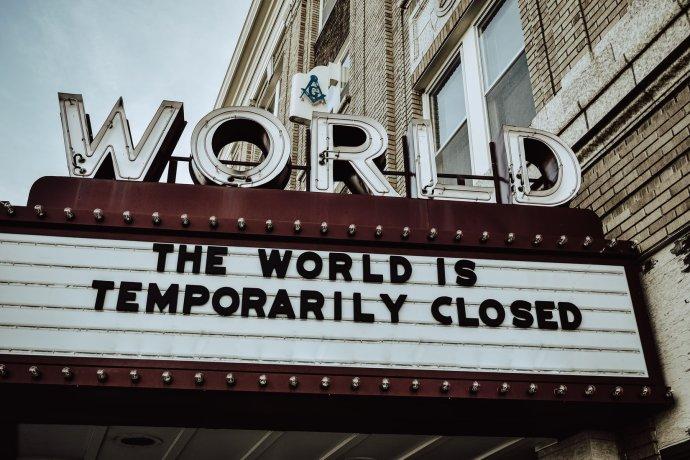 Svět je dočasně uzavřen, zoufalá divadla přesto neztrácí naději. Foto:Unsplash