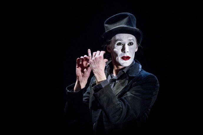 Radim Vizváry za představení Sólo dostal vroce 2016 Cenu Thálie za mimořádný jevištní výkon. Foto:David Konečný, archiv ND