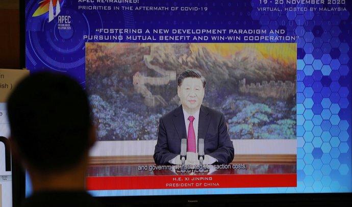 Soudruhu Si Ťin-pchingovi s láskou. Foto:Lim Huey Teng, Reuters