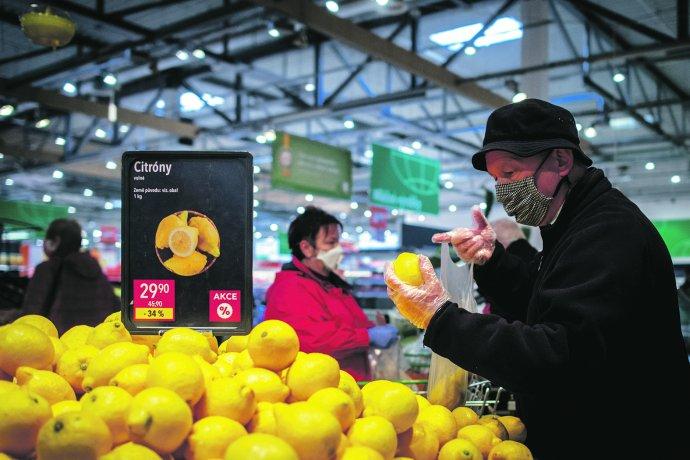 Nakupování potravin, ilustrační. Foto:ČTK