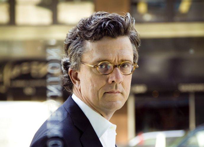 Americký publicista aautor knihy Evil Geniuses Kurt Andersen. Foto:Marco Lau