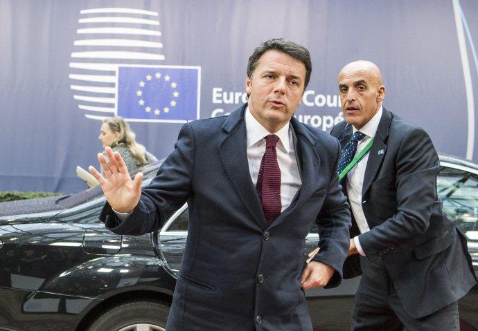 Matteo Renzi ještě jako italský premiér na summitu EU (Evropské radě) vříjnu 2016. Foto:EU