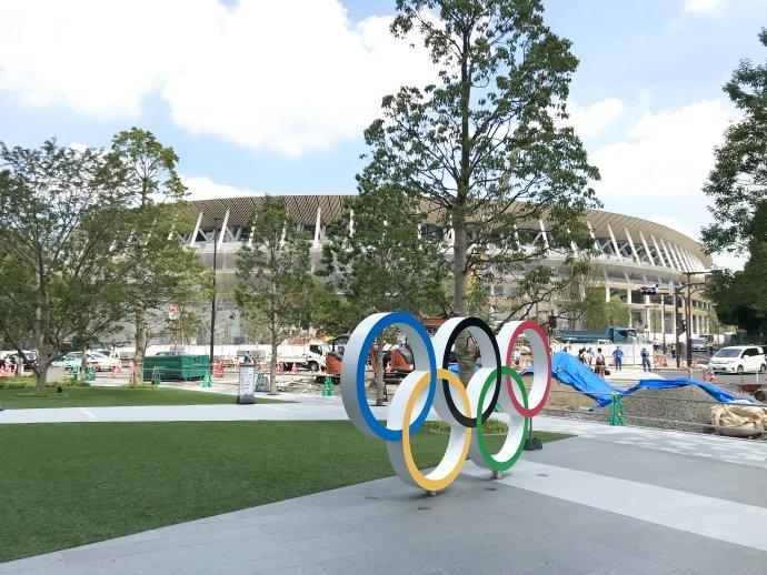 Národní olympijský stadion vTokiu. Foto Tokyo-Good, Wikimedia Commons, CC BY-SA 4.0