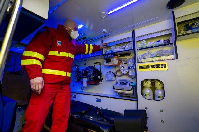Zdravotnická záchranná služba. Ilustrační foto:ČTK
