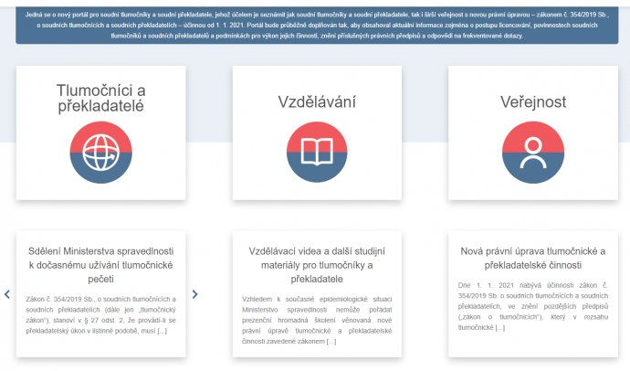 Ministerstvo spravedlnosti zřídilo webový portál, na kterém informuje tlumočníky ozměnách vpředpisech. Foto:DeníkN