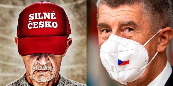 Andrej Babiš si po včerejších násilnostech Trumpových stoupenců změnil profilovou fotku na Twitteru. Reprodukce: DeníkN