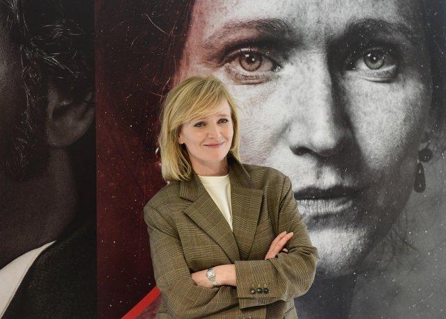 Herečka Anna Geislerová pózuje 15.prosince 2020 vPraze po novinářské projekci jednoho dílu ztelevizní minisérie Božena. Foto:Roman Vondrouš, ČTK