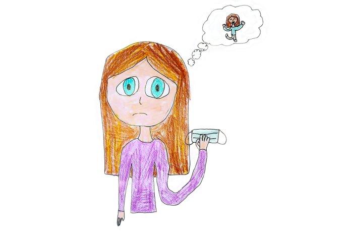 Ilustrace: Anna Lozinčáková, 11 let