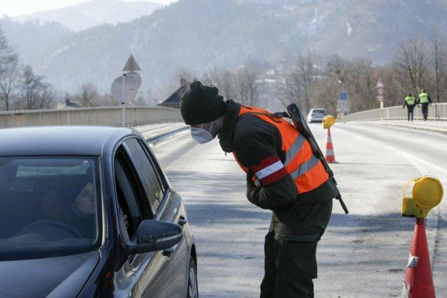 Německá hraniční kontrola. Foto: ČTK