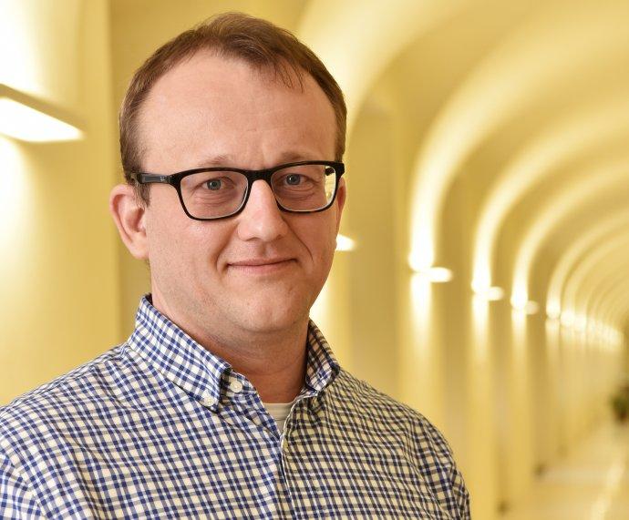 Nově jmenovaný ředitel Národní knihovny Tomáš Foltýn. Foto: Ministerstvo kultury