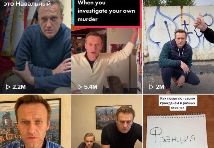 Účet na TikToku má iAlexej Navalnyj. Foto:Reprofoto DeníkN