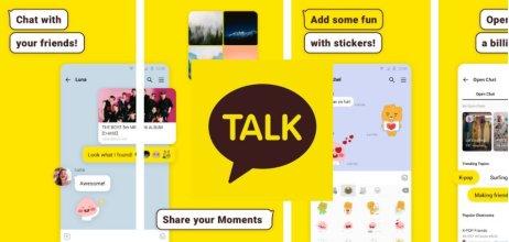 """Kakao Talk (""""KaTalk"""") je největší anejpoužívanější messenger vJižní Koreji. Funguje od roku 2010amá desítky milionů aktivních uživatelů měsíčně. Foto:Google Play"""