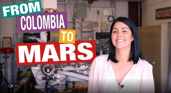 """""""ZKolumbie na Mars"""": Splněný americký sen kolumbijské emigranty adnes špičkové odbornice NASA Diany Trujillové, která svozítkem Perseverance pomáhá hledat život na Marsu. Foto:NASA"""