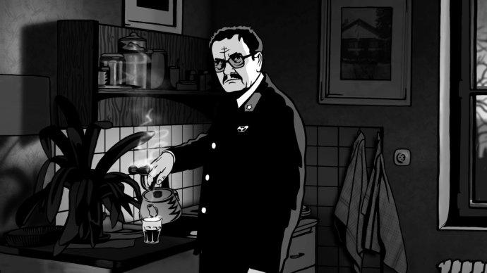 Miroslav Krobot jako Alois Nebel. Foto: Negativ Film