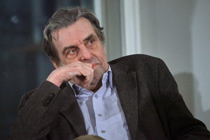 Jan Sokol (18.dubna 1936– 16.února 2021). Foto:Ondřej Němec, Knihovna Václava Havla