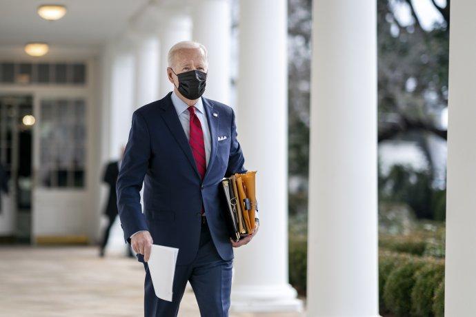 Bidena čeká nelehký úkol– přesvědčit Republikány, aby návrh podpořili. Foto:Adam Schultz, Bílý dům