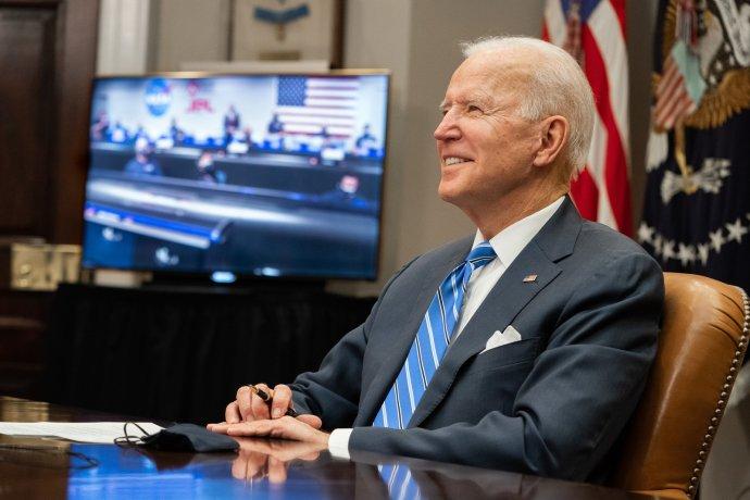 Joe Biden byl po dvanácti letech zase prvním americkým prezidentem, který jednal spředstaviteli evropských zemí. Foto:Adam Schultz, Bílý dům