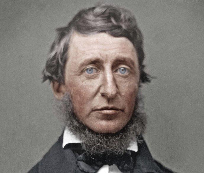 Celá příroda vypráví báje akaždý přírodní jev se stává mýtem, zapsal si Henry David Thoreau. Repro: Wikimedia Commons, CC BY-SA 4.0