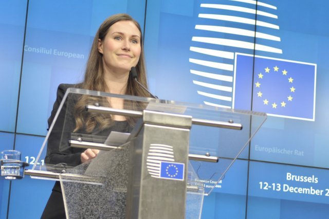 Finská premiérka Sanna Marinová je ve své zemi političkou, která čelí obtěžujícím tweetům nejčastěji. Foto:ČTK