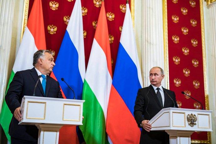 Maďarský premiér Orbán a ruský prezident Putin v září 2018. Foto: orbanviktor, Facebook