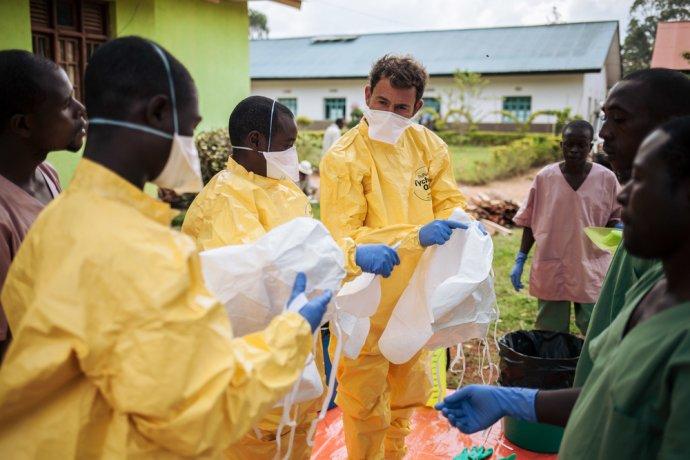 Lékaři bez hranic vkonžském North Kivu. Foto:Lékaři bez hranic