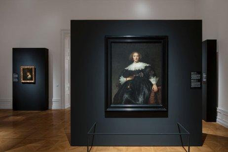 Expozice výstavy Rembrandtových děl vpaláci Kinských. Foto:NGP, Katarina Hudačinová