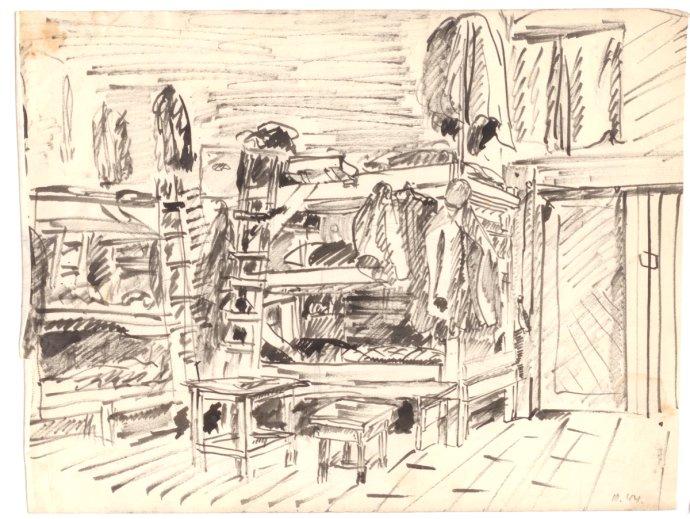 Stejně jako zbytek dánských Židů se na podzim roku 1943 Fischermannová ocitla v Terezíně. Repro: Dansk Jødisk Museum