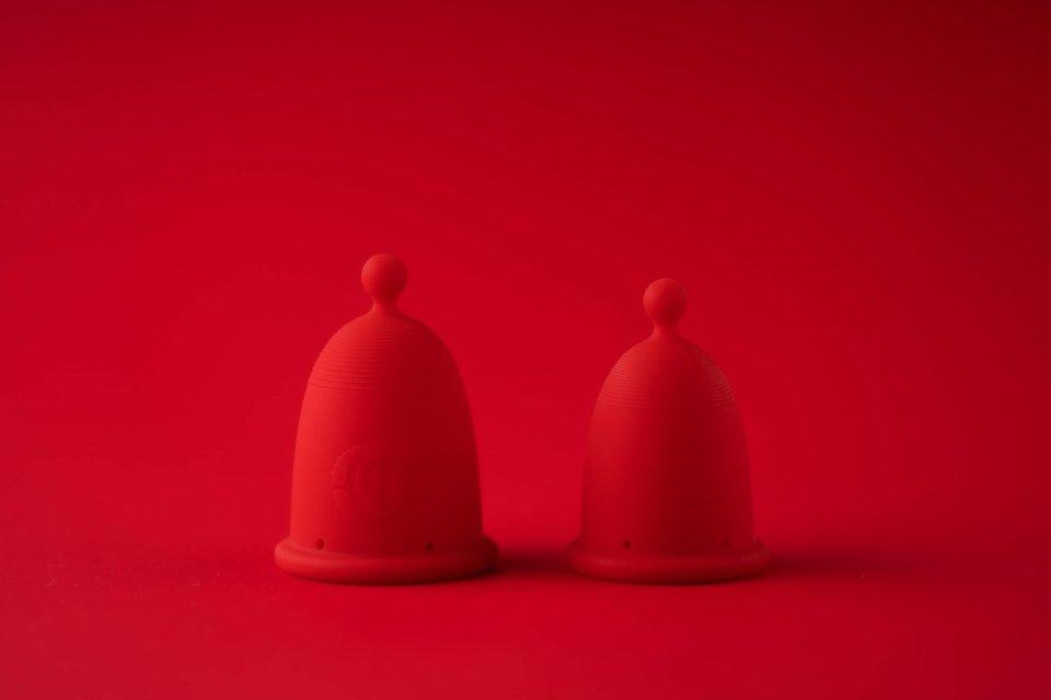 Menstruační kalíšek od designérky Anny Marešové. Foto:CGD
