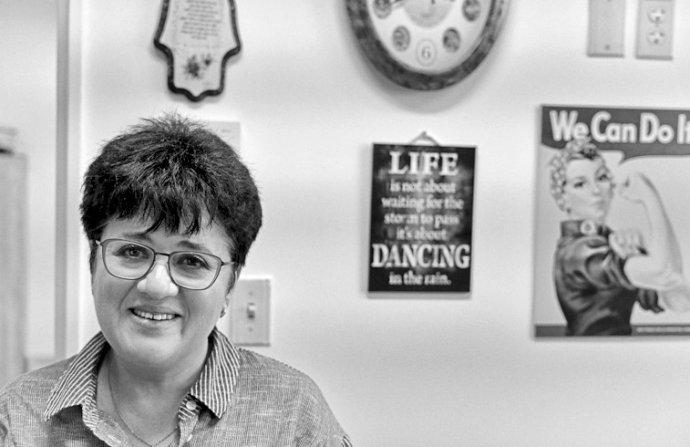 Profesorka Polina Stěpenská je dětská hematoložka aonkoložka. Vede oddělení transplantací kostní dřeně na klinice Hadassah vJeruzalémě. Foto:Sergej Mostovščikov