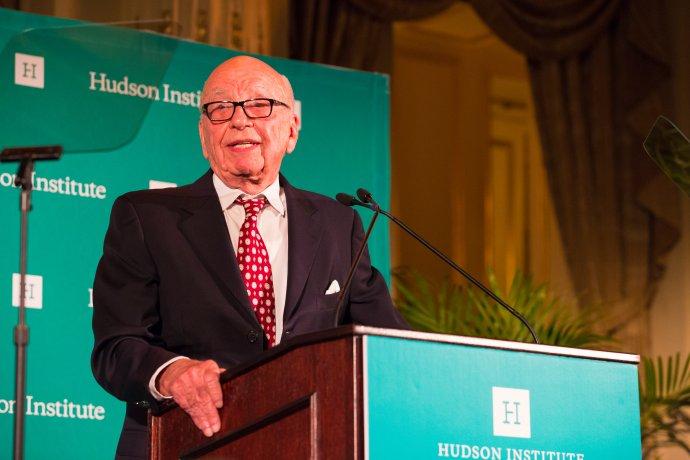 Rupert Murdoch. Foto:Hudson Institute, Flickr CC BY 2.0