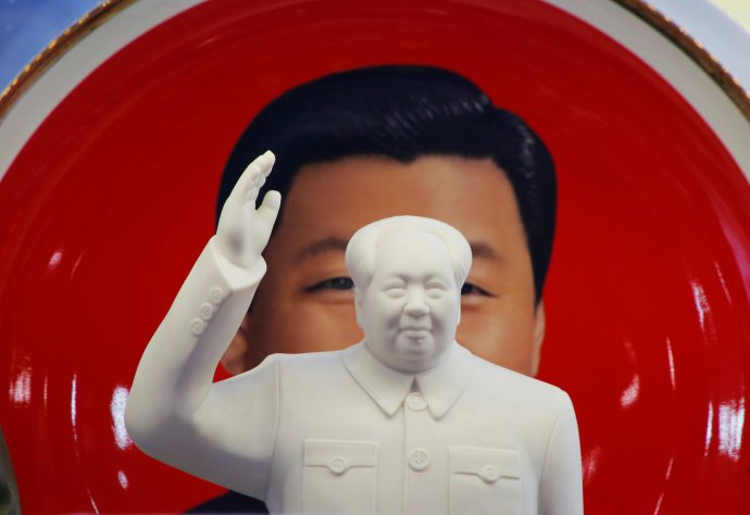 Předsedové: Mao aSi. Foto:Jason Lee, Reuters