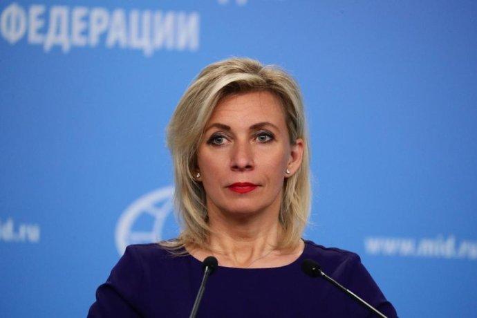 Mluvčí ruské diplomacie Marija Zacharovová nyní hovoří o Česku denně. Foto: mid.ru