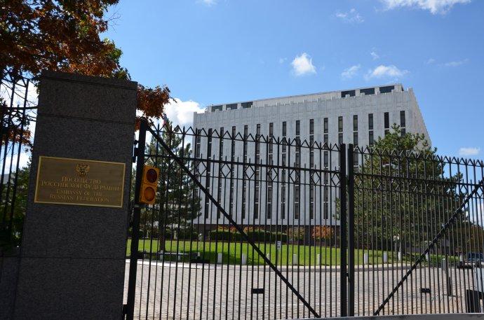 Ruská ambasáda ve Washingtonu. Foto:Adam Fagen, Flickr, CC BY-SA 2.0
