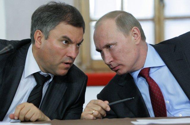 Nynější šéf Dumy a blízký spolupracovník Vladimira Putina Vjačeslav Volodin na archivním snímku. Foto: ČTK