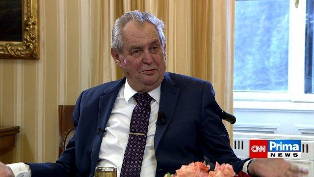 Prezident České republiky Miloš Zeman. Foto:ČTK