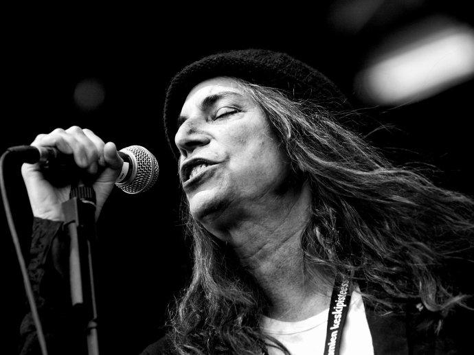 Patti na koncertu ve Finsku v roce 2007. Foto: Beni Köhler